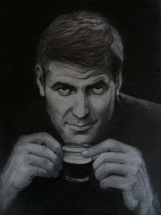 George Clooney por Ennankh
